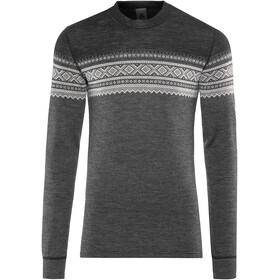 Aclima DesignWool Marius - T-shirt manches longues Homme - gris